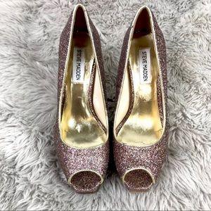 Steve Madden P-Karl Glitters Shoes 8